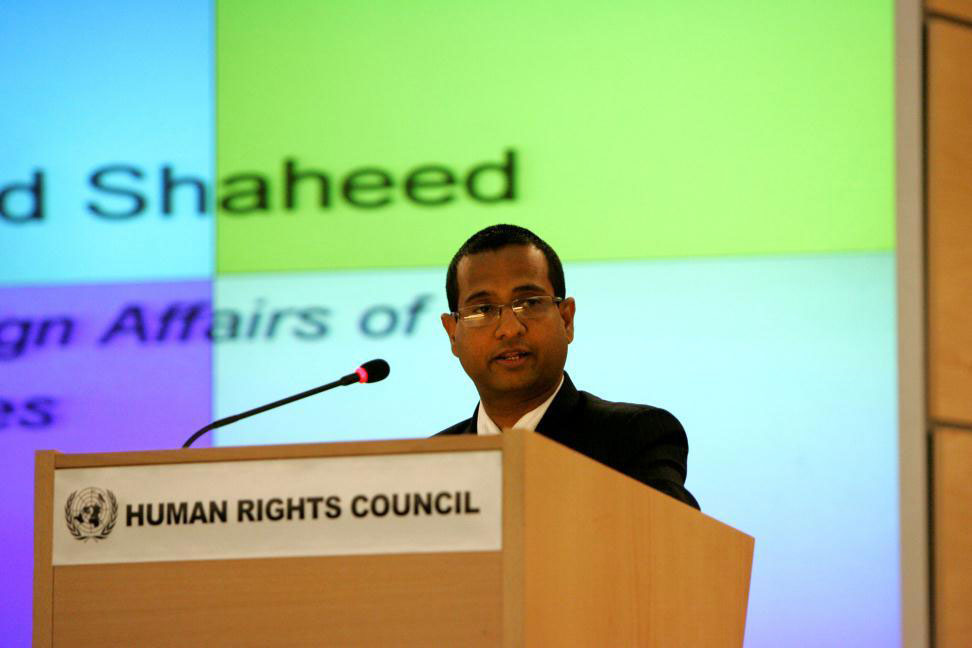 UN resolution calls for unfettered access to Iran by Special Rapporteur Dr. Ahmed Shaheed