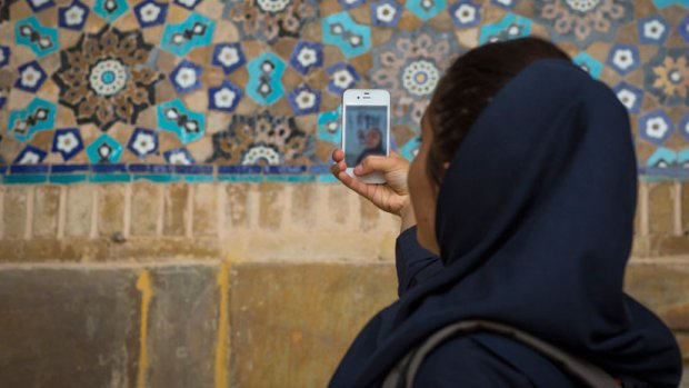 THE APPS GETTING CRUCIAL INFORMATION TO WOMEN IN IRAN WHEN THEY NEED IT THE MOST