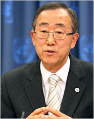What the Iranian People Expect of Ban Ki Moon